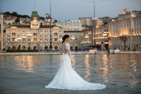 Sposa - Piazza Unità Trieste - Acconciatura Modo Parrucchieri